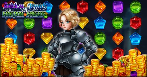 Magical Jewels of Kingdom Knights: Match 3 Puzzle apkdebit screenshots 5