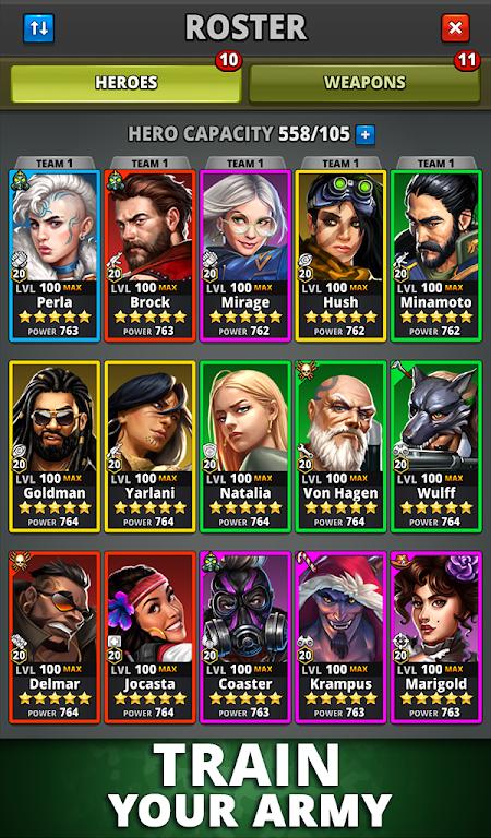 Puzzle Combat: Match-3 RPG poster 19