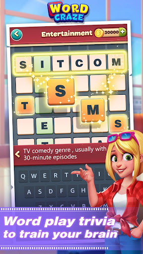 Word Craze - Trivia crosswords to keep you sharp 2.8 screenshots 1