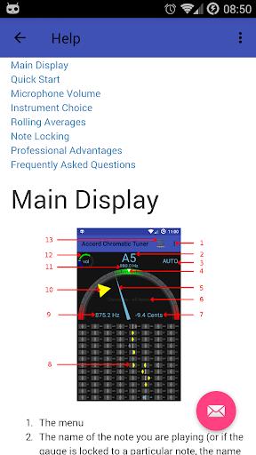 Accord Chromatic Tuner modavailable screenshots 5