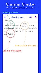 Grammar Checker, Check Spell & Sentence Correction