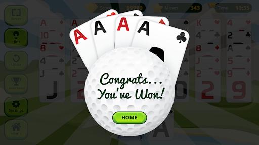 Golf Solitaire  screenshots 4