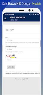 Image For NPWP Online :  Daftar Pajak NPWP Online Versi 1.0.2 2