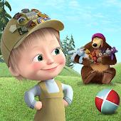 icono Masha y el oso para los niños