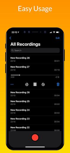 iVoice - iOS Voice Recorder, iPhone Voice Memos android2mod screenshots 1
