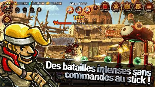 Télécharger Metal Slug Infinity: Idle Game  APK MOD (Astuce) screenshots 1