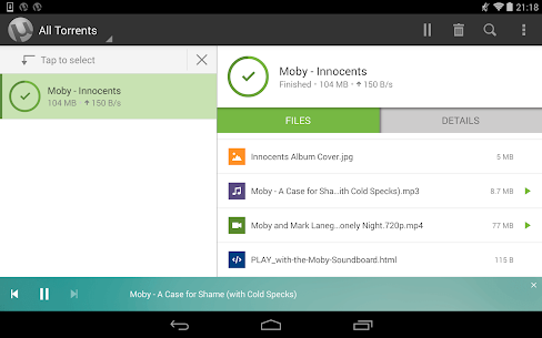 Download Utorrent Pro Apk Torrent App 6.5.7 Apk For Android+Mod [Paid] 8