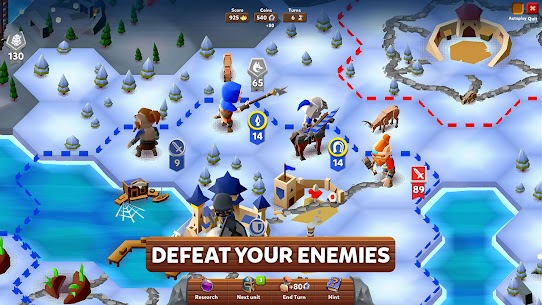 Hexapolis MOD APK: Turn Based Civilization (Unlocked) Download 6