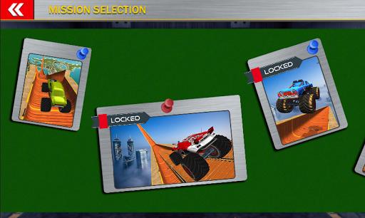 Monster Mega Truck Jump 3D Race Simulator apkpoly screenshots 3
