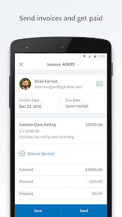 PayPal Business: Send Invoices and Track Sales Screenshot
