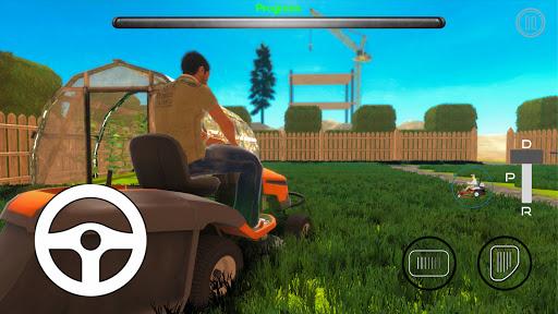 Code Triche Lawn Mower Simulator (Astuce) APK MOD screenshots 4