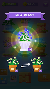 Idle Plant Game - Leisure Garden Merge Plants