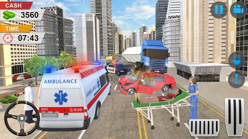Emergency Ambulance Game - New Games 2020 Offline 1.1.14 screenshots 2