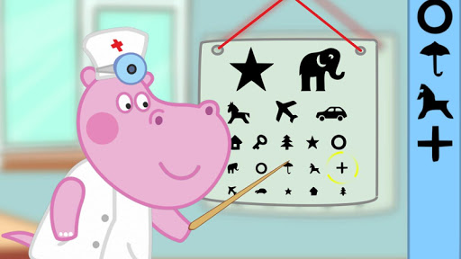 kids hospital: eye doctor screenshot 1