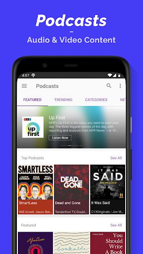 Podcast Player  Screenshots 1