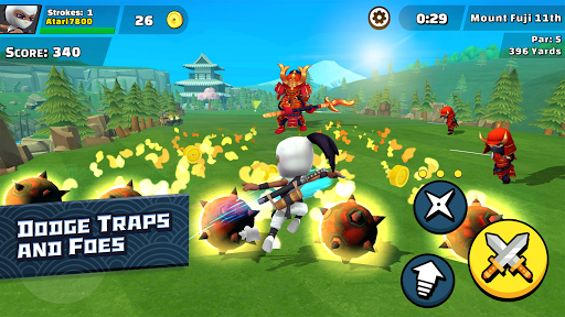 Ninja Golf u2122 1.6.7 screenshots 3