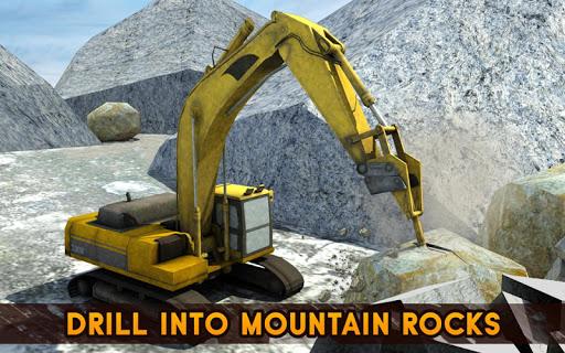 Hill Excavator Mining Truck Construction Simulator screenshots 7