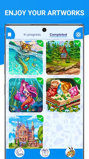 Happy Canvasu2122 - Color by Number Book 2.1.2 screenshots 10