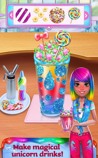 Unicorn Food - Rainbow Glitter Food & Fashion apkpoly screenshots 12