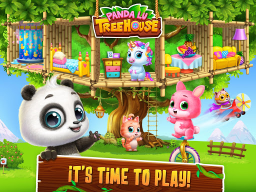 Panda Lu Treehouse - Build & Play with Tiny Pets  Screenshots 19