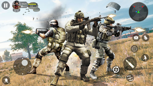 Modern Forces Free Fire Shooting New Games 2021 1.53 screenshots 12