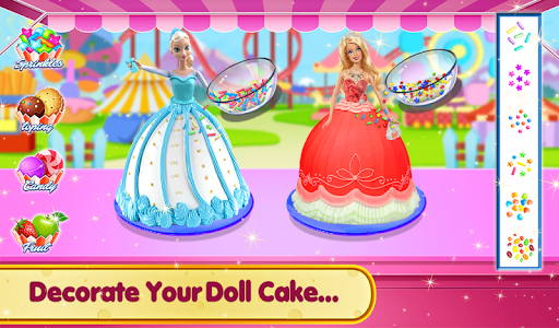 Doll Ice Cream Cake Baking 2019: World Food Maker 1.0.05 screenshots 8