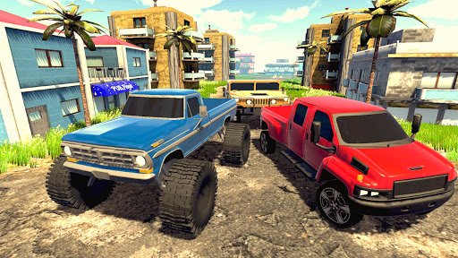 Off road Truck Simulator: Tropical Cargo android2mod screenshots 12