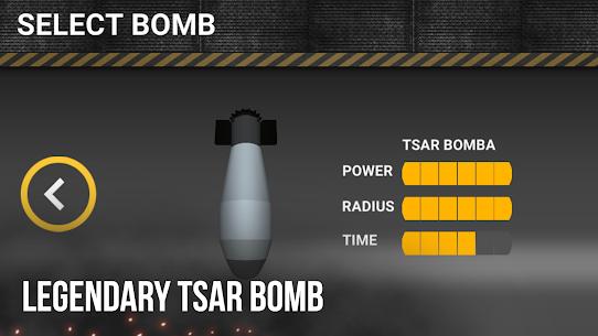 Nuclear Bomb Simulator 3D MOD APK 3.0 (Unlimited Missile) 4