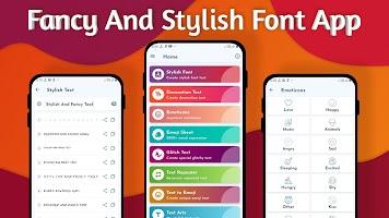 Fancy & Stylish Text - Emoji, Cool Chat Style 2020