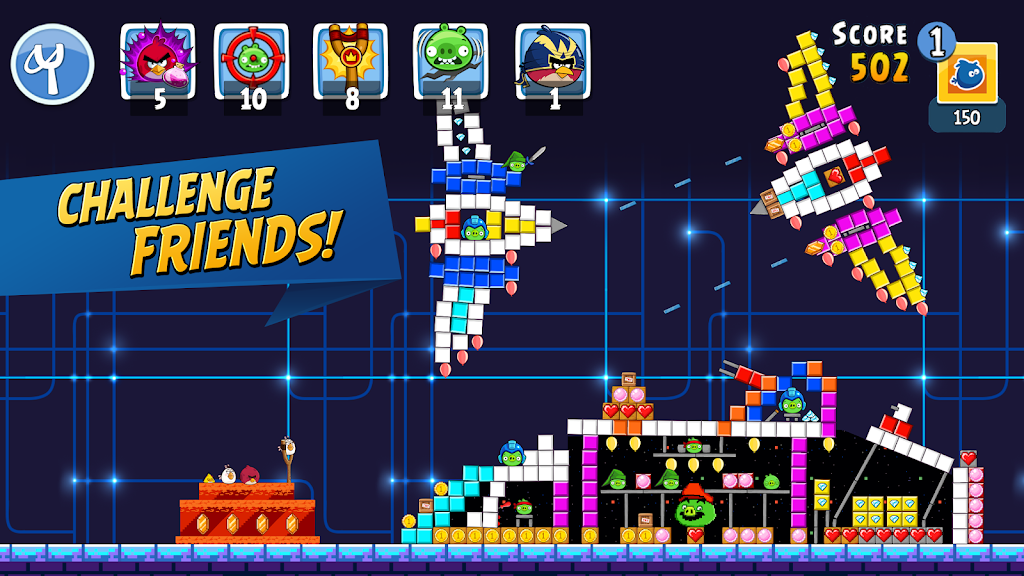 Angry Birds Friends poster 1