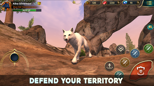 Wolf Tales - Online Wild Animal Sim 200198 screenshots 4