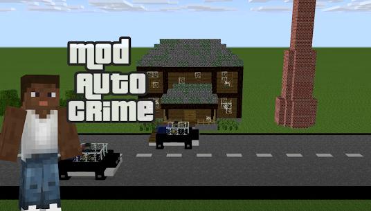 Free Mod ????GTA for Minecraft PE 4