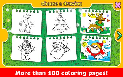 Christmas Coloring Book apkdebit screenshots 3