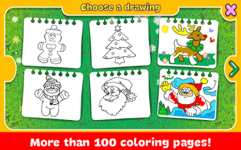 Christmas Coloring Book screenshots 3