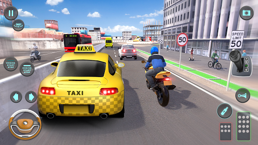 City Taxi Driving simulator: PVP Cab Games 2020 1.53 screenshots 8