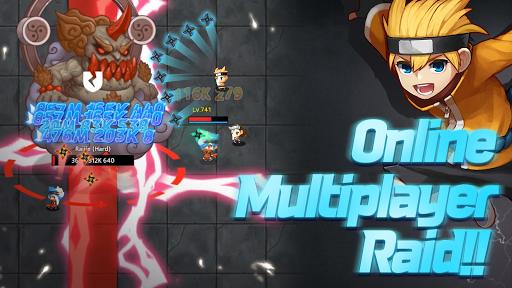 Idle Ninja Online - AFK RPG  screenshots 8
