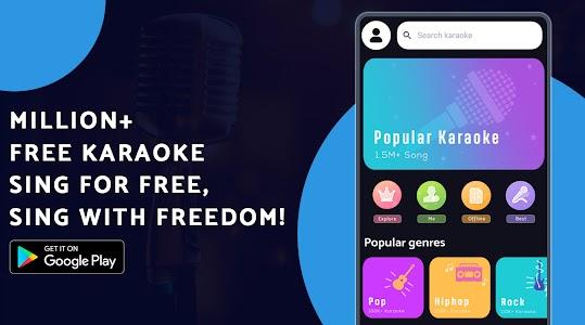 Free Karaoke - Sing Free Karaoke, Sing & Record 1.3