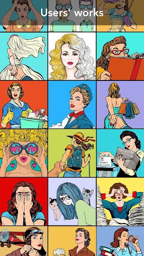 Girls Coloring Book 3.1.1 screenshots 19