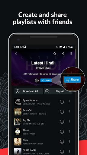 Wynk Music- New Songs, Offline Music & Podcast App screenshots 8