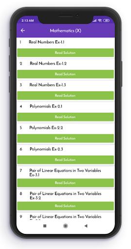 Class 10 NCERT Solutions Offline apktram screenshots 3