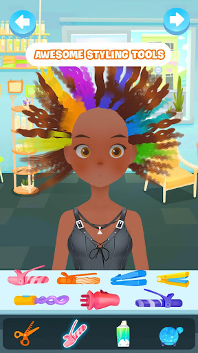 Hair salon games : Hair styles and Hairdresser apkdebit screenshots 2