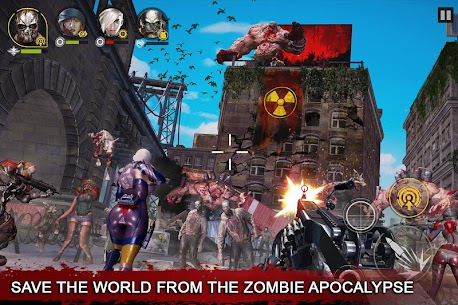 Dead Warfare Zombie MOD APK 2021 [Unlimited Ammo/Money/Health] 3