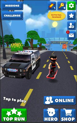 Subway Ninja Run:Surfer in the road 2.0 screenshots 2