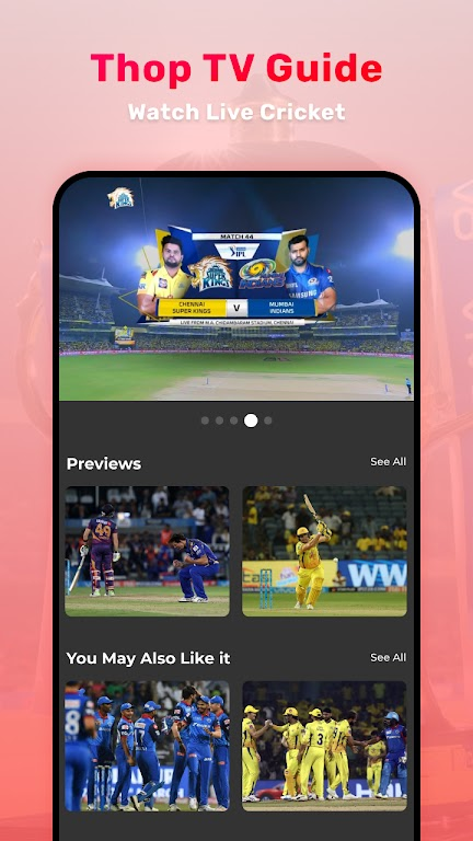 Thop TV : Free Thoptv Live IPL Cricket Guide 2021 poster 2