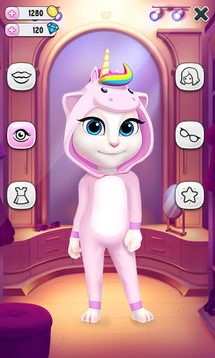Ma Talking Angela APK MOD (Astuce) screenshots 4
