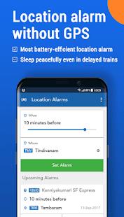 Where is my Train : Indian Railway Train Status 6.6.0 Screenshots 5