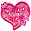Glitter Heart Emoji Keyboard 💖💜🎀