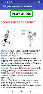 french conversations for beginners audio texte