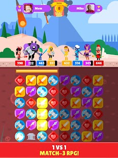 Puzzle Clash Heroes Screenshot