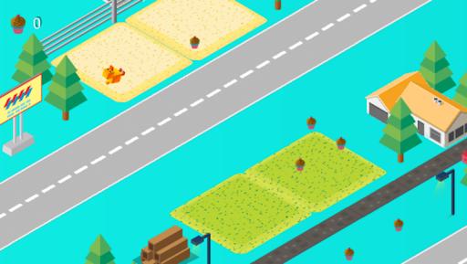 Cross Road: Cute Animals - Chicken Game 3.4 screenshots 5